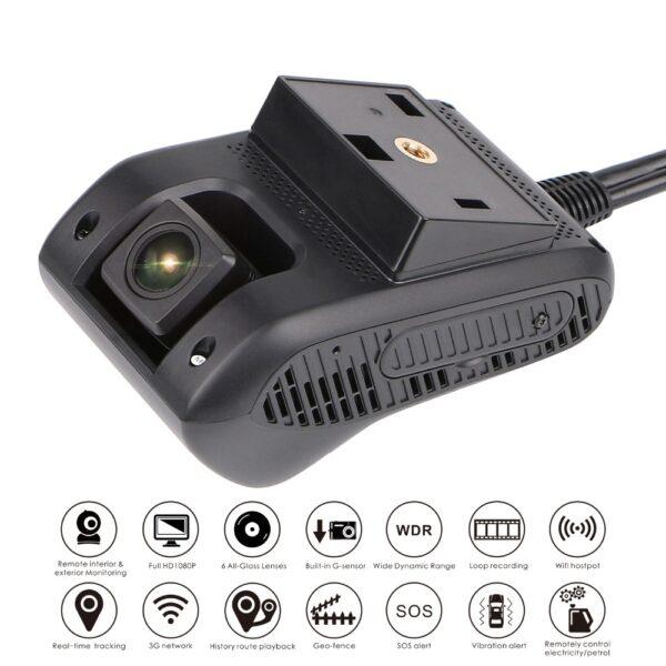 Dashcam Pro Dual Camera GSM