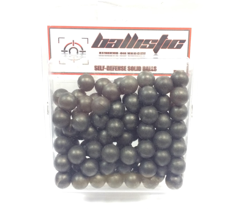 Ballistic Self Defence Solid Balls 100Pkt