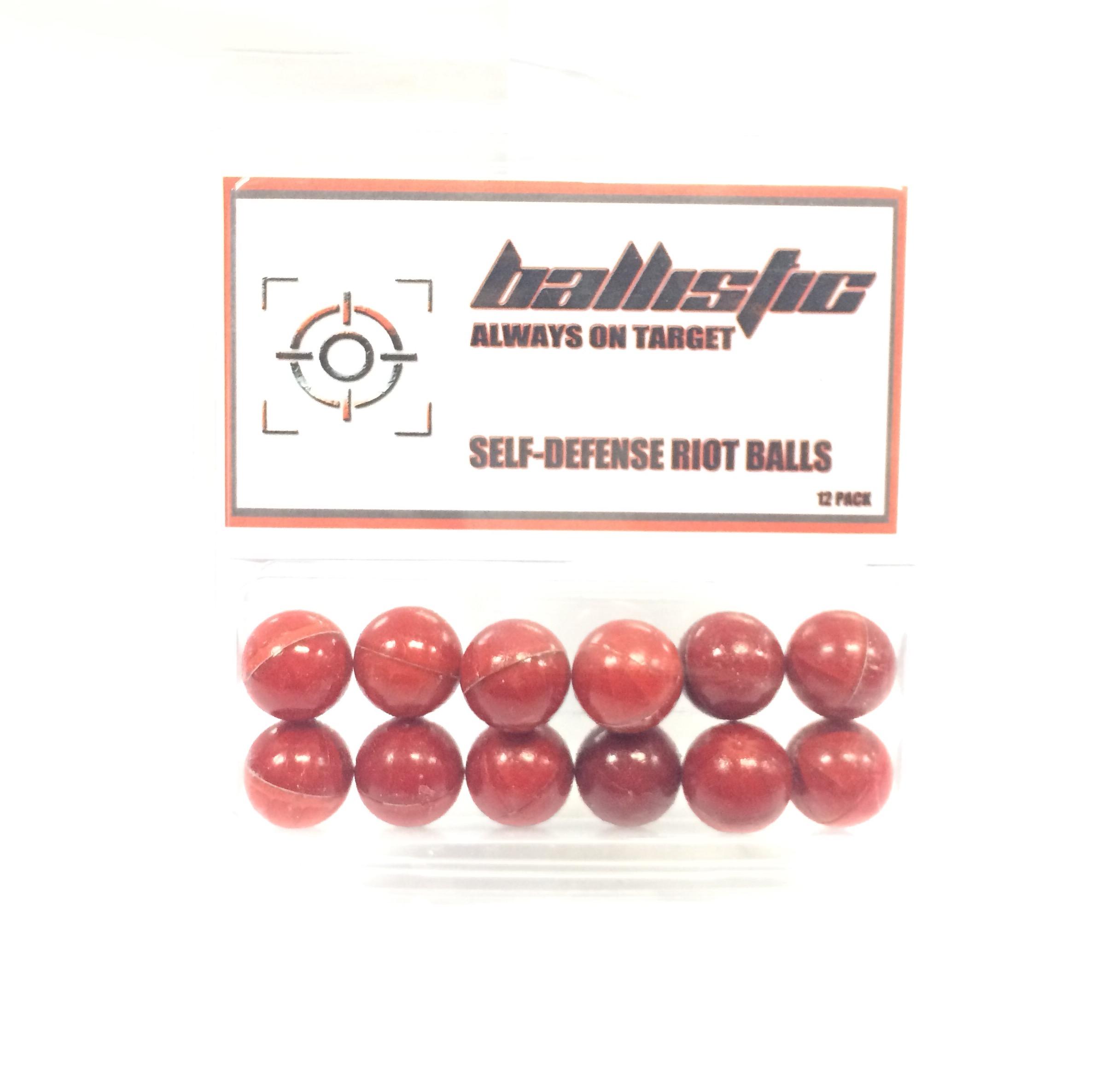 Ballistic Self Defence Pepper Balls (10)