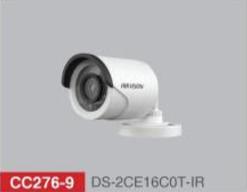 "HD-TVI Bullet 1/3"" 720p IR 20m - 3.6mm - IP66 with CVBS"