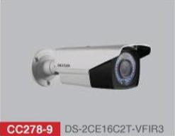 "HD-TVI Bullet 1/3"" 720p IR 30m -40m VF 2.8mm-12mm - IP66 with CVBS"