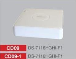 HD-TVI/AHD/Analogue DVR Mini 16 Channel